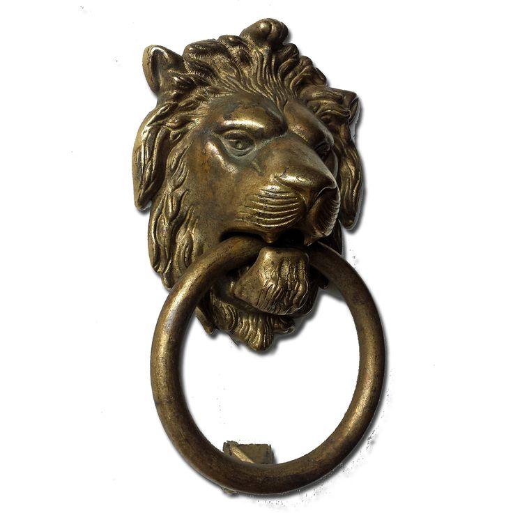 Buy Bosetti Marella 100977 03 Lion Door Knocker Distressed Antique Brass 7  5 X 4 3 The 25 Best Door Knocker Ideas On Pinterest Knockers