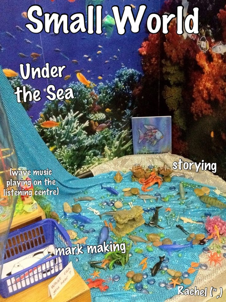 """Under the Sea Small World from Rachel ("""",)"""