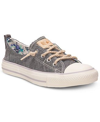 Converse Women's Shoes, Chuck Taylor Shoreline Floral