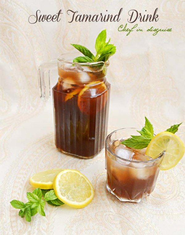 Sweet tamarind recipe and qamar el deen..two traditional ramadan drinks