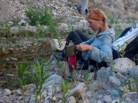 Cooking on the Pacific Crest Trail