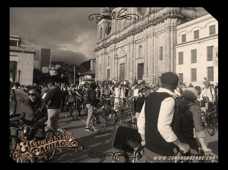 Ciclopaseo Cachaco 2014