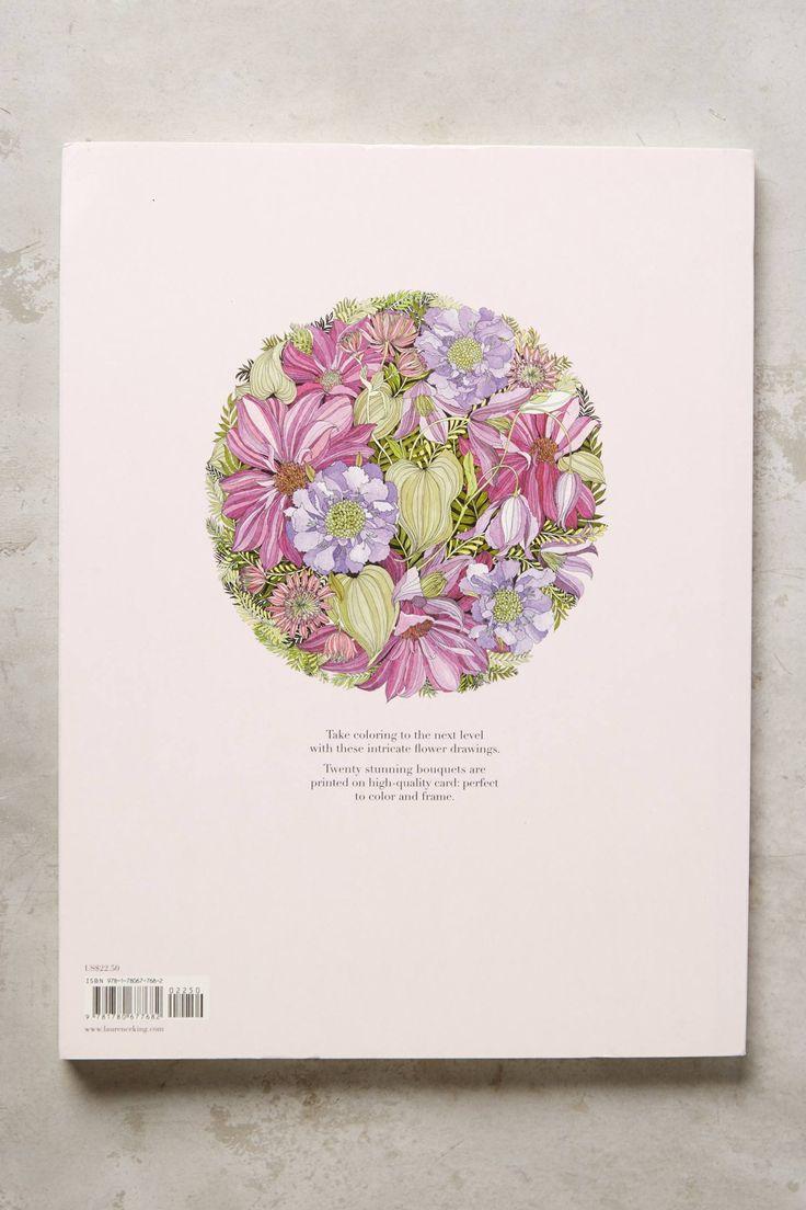 49 Best Floribunda A Flower Coloring Book Images On Pinterest