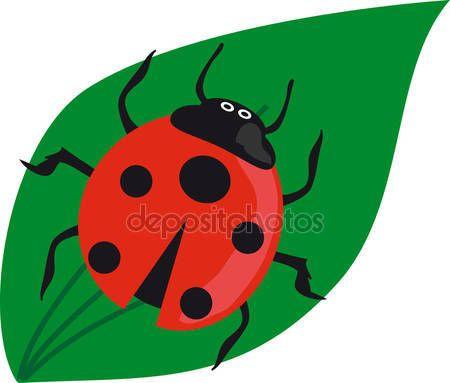 depositphotos_29492687-stock-illustration-ladybird-on-the-green-grass.jpg (450×383)