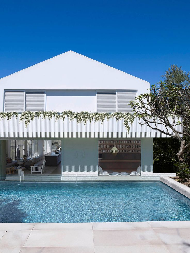Swimming pool | Clovelly House by Madeleine Blanchfield Architects | est living