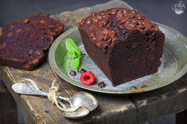 Шоколадный кекс с цукини - Janette's Cafe