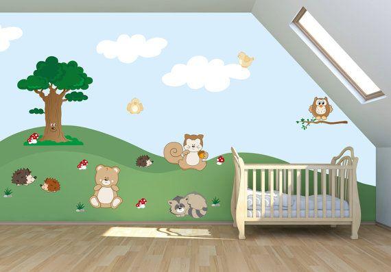 wall stickers bambine : ,Wall Decals Nursery, Childrens Wall Decals,Adesivi da muro Bambini ...