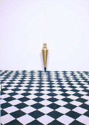 Punto de Equilibrio.  Artista:Sergio Zapata, Punto de equilibrio, Grafito y plomada de punto sobre papel, 73 x 59cm (28.5 x 23 inch), 2014, + PA  Artist: Sergio Zapata, Breakeven , Graphite and plumb dot on paper , 73 x 59cm ( 28.5 x 23 inch ) , 2014 , + PA  #art #arte #contemporaryartwork #pintura #paint #bac #dibujo #drawing
