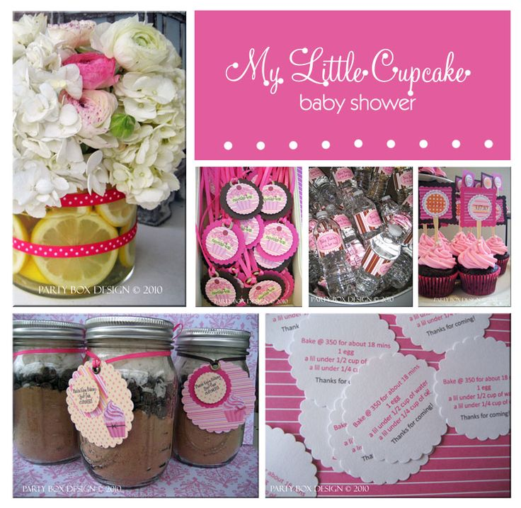 mason jar cupcake party favors... perfect!  with a cloth flower on top??