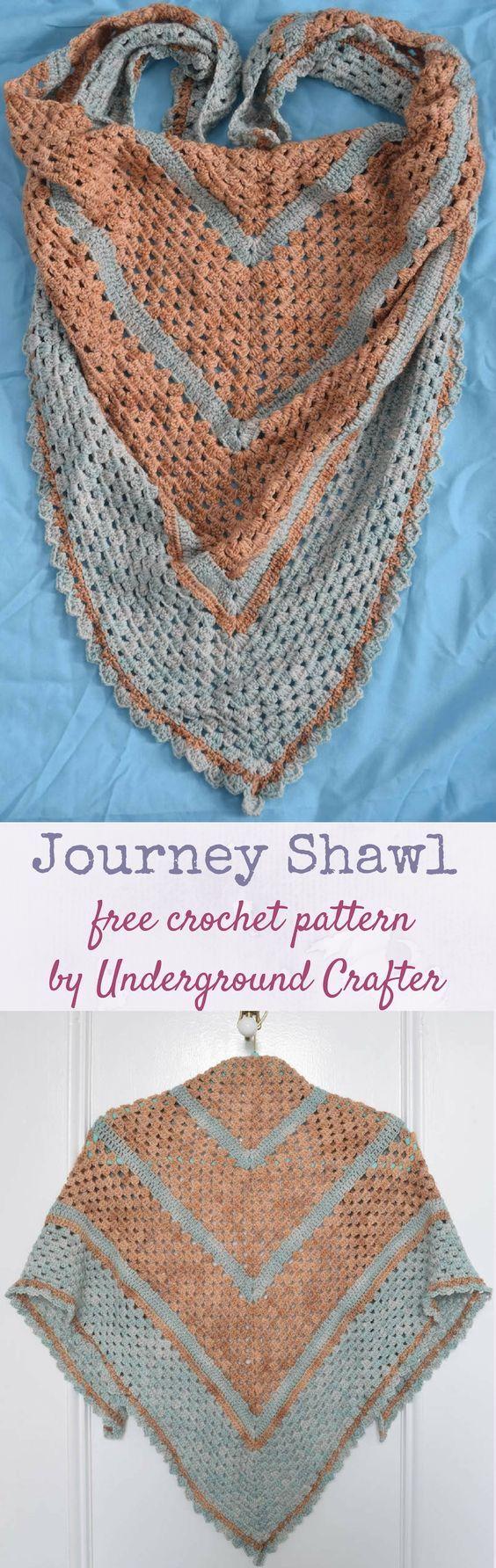 1180 besten Crochet - Shawls, Stoles & Capes Bilder auf Pinterest ...