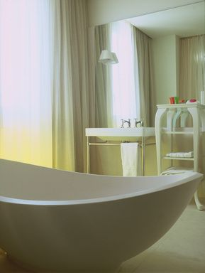 #Nhow #Milan Junior #suite #hotelroom #bath