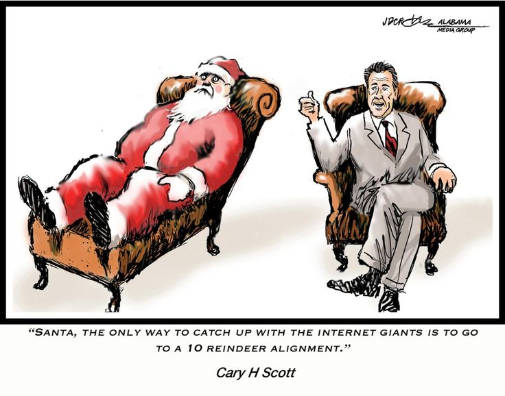 Trash-talk with Santa Claus and Nick Saban: JD Crowe cartoon caption contest winners