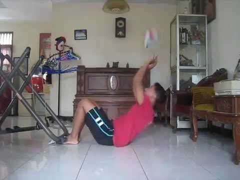 Volleyball Setter Exercise to control the ball  part 1