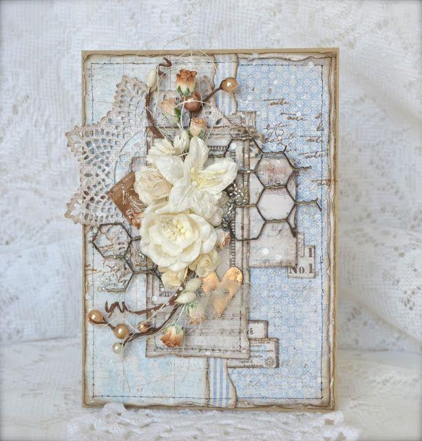 Cathrines hjerte: Blomsterkort