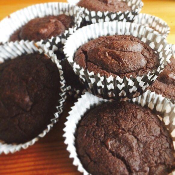 Made some cupcakes for my trip next week.  #nyttigt #mejerifritt #glutenfritt #sockerfritt #chocolatecupcakes #glutenfree #dairyfree #sugarfree #healtyeating #allergyfriendly