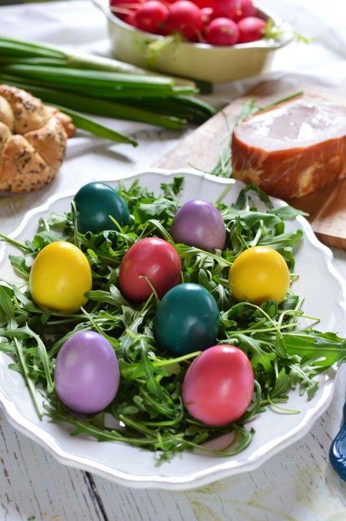 Húsvéti színes tojások recept
