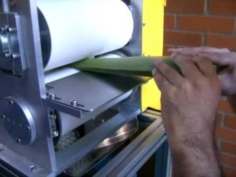 Aloe Vera extraction machine
