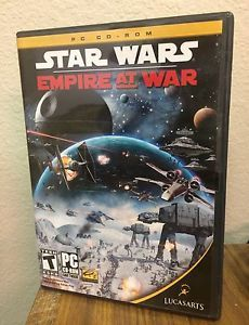 Star Wars: Empire at War (PC Game, 2006) in Clamshell Case, 2 Discs  | eBay