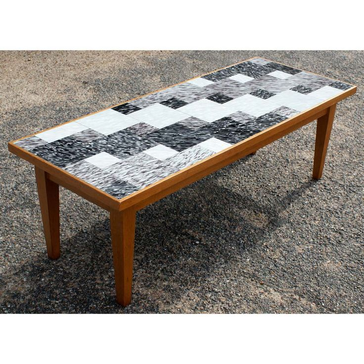 78 best images about tile it on pinterest tile top for Tile coffee table