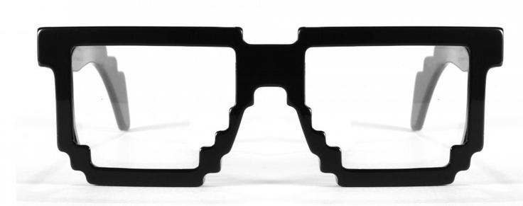Pixel Eyewear #eyewear, #glasses, #pixeleyewear, #pixel: Glasses 5Dpi, Style, Geekest Eyeglasses, Pixelated Glasses, 8 Bit Glasses, Eyewear, Chic Glasses, Eye Glasses