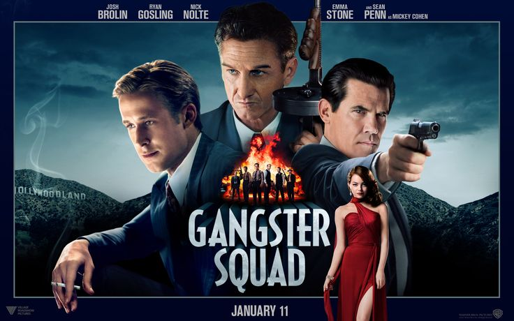 Gangster Squad – 2013′s First Guilty Pleasure