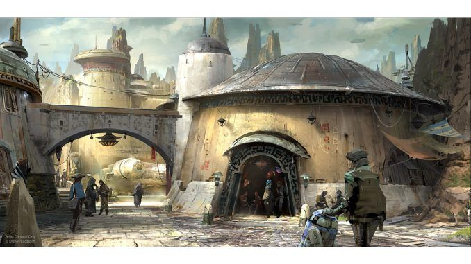 Star Wars Land: Nuevo vídeo del futuro parque temático de Disney |