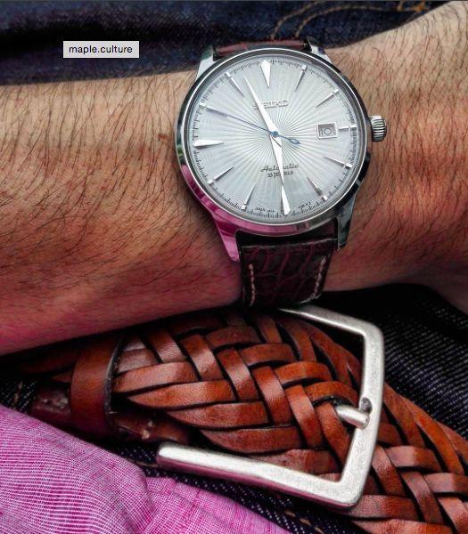 #atelierparticulier #ceinture #cuir #marron  #watch #details #handmade #madeinFrance #madeinItaly #luxe