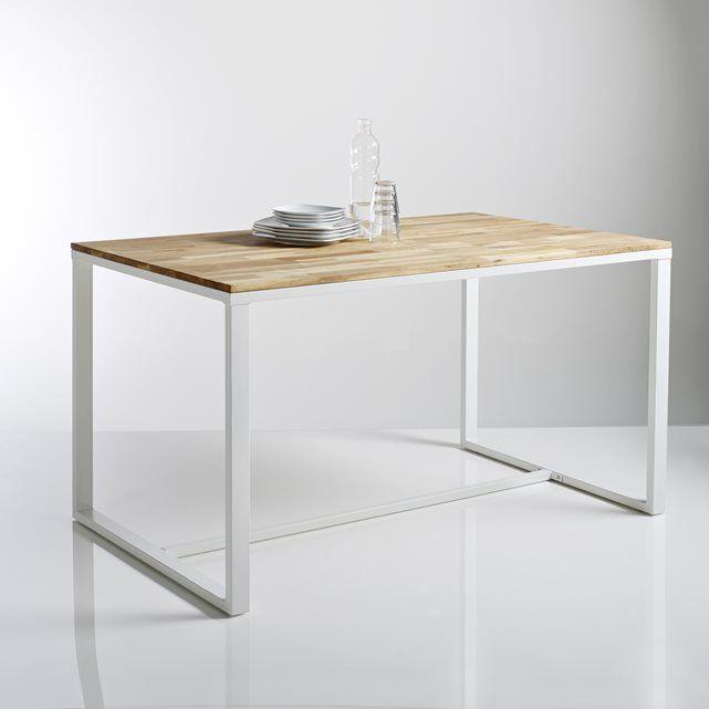 Table 4 couverts en ch ne massif about et acier hiba la - Table hiba la redoute ...