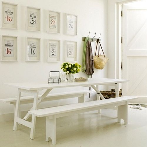 Kitchen Table Picnic Style: 1000+ Images About Bancos Em Madeira On Pinterest