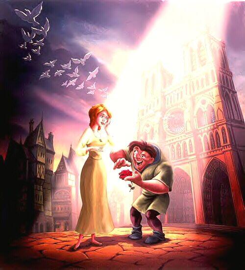 Quasimodo And Madellaine 481 best The Hu...