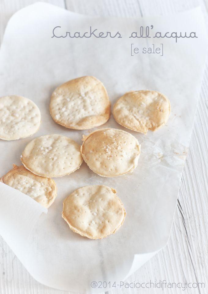 Crackers all'acqua (senza lievitazione)