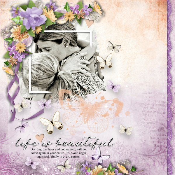 Template Summer Splash #3 by Heartstrings Scrap Art. Kit One Step Beyond 99 by BooLandDesigns. Photo per kind favour of Marta Everest Photography.
