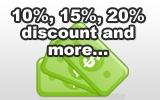 Montreal Discount Coupons for Restaurants - 10%, 15%, 50% discount