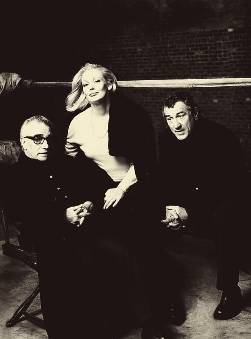 Raging Bull reunion for Vanity Fair: Martin Scorsese, Cathy Moriarty & Robert De Niro.