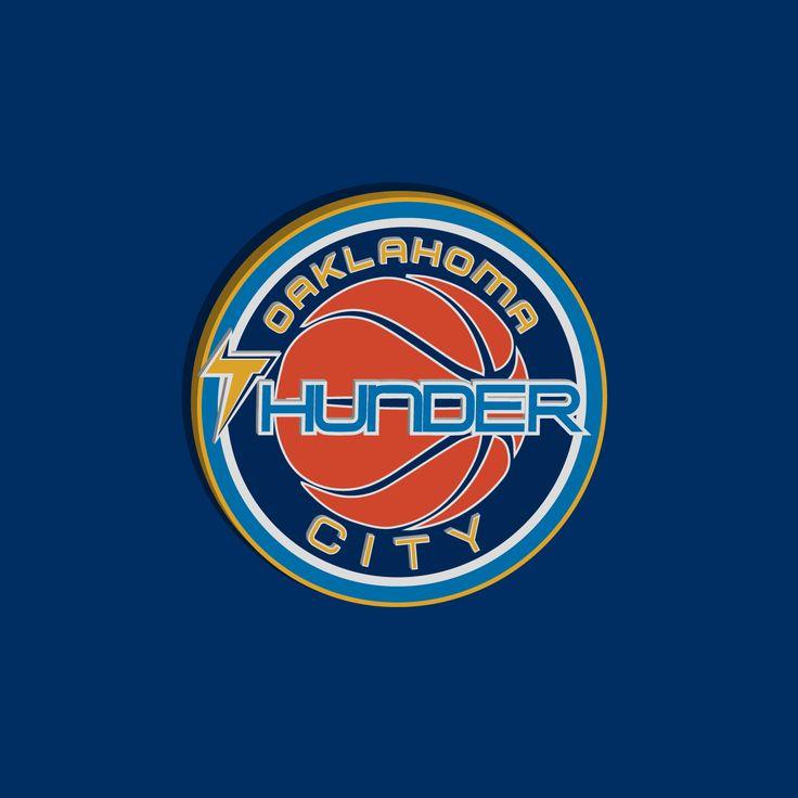 Oaklahoma City Thunder Logo Redesign