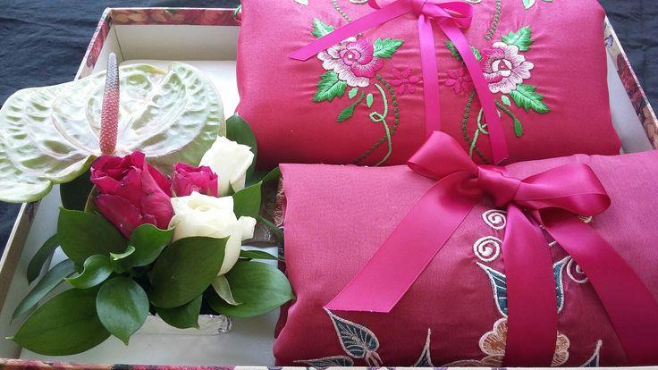 Seserahan untuk Aretha - bahan kain - #hantaran #seserahan