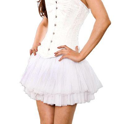 white tutu http://www.attitudeholland.nl/haar/kleding/rokken/mini-rokjes/white-net-tutu-skirt-one-size-burles/