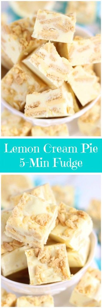 This fudge is ready in sheer minutes! Chock-full of lemon zest, Lemon Oreo cookies, and white chocolate, it's rich, creamy, and super lemony!