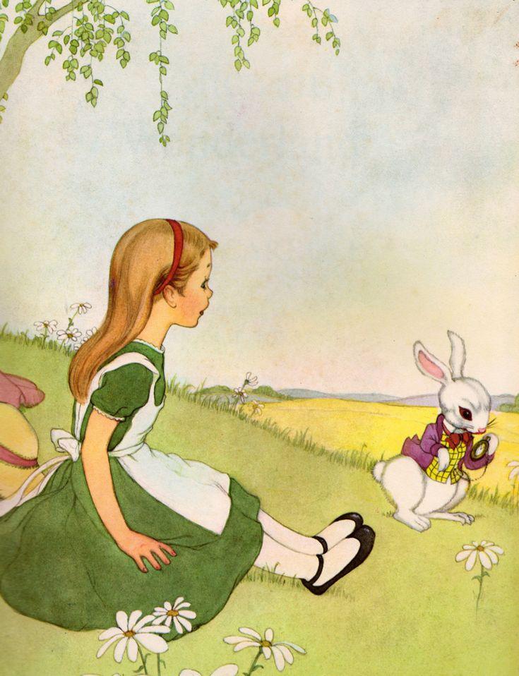 Иллюстрации к сказке алиса в стране чудес кэрролла