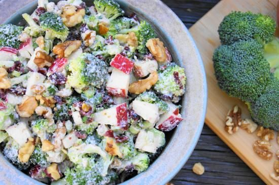 Őszi brokkoli saláta - gréta konyhája
