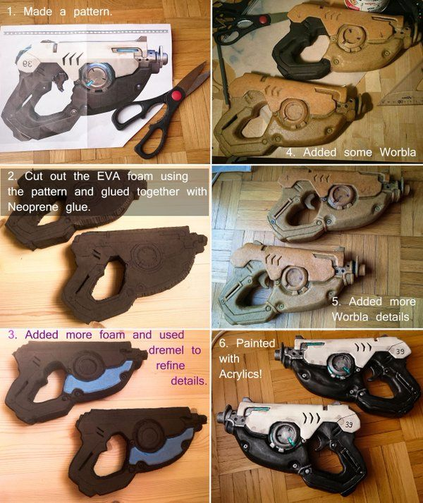 """Ardsami Cosplay on Twitter: """"Here is a tiny guide on how I made the #Tracer…"""