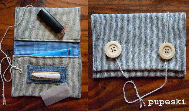 View details for the project DIY - tobacco pouch bag on BurdaStyle.