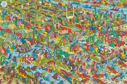 Where's Wally Dino poster