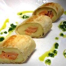 Kooktijd aardappelen: 10 min. Bereidingstijd: 15 min. Kook de geschilde en in stukken gesneden aardappelen gaar in gezouten water (kan ook in de microgolfoven). • Breng de room samen met …
