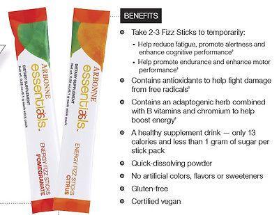 Arbonne Energy Fizz Sticks - Pomegranate.  30 sticks, 6.1g Each FREE SHIPPING - http://health-beauty.goshoppins.com/dietary-supplements-nutrition/arbonne-energy-fizz-sticks-pomegranate-30-sticks-6-1g-each-free-shipping/