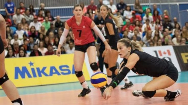 CBC Sports   Veteran outsideKylaRicheyled the way for Canada as she earned 22 points, including 17 kills, to lead the Canadians to a 3-1 (20-25, 25-17, 25-17, 25-21) win over Peru in the 2017 World Grand Prix at the Richmond Olympic Oval Saturday. AlongsideRichey,... - #1St, #Canadian, #Grand, #Home, #Peru, #Prix, #Soil, #Team, #Tops, #Volleyball, #Win, #Womens, #World_News