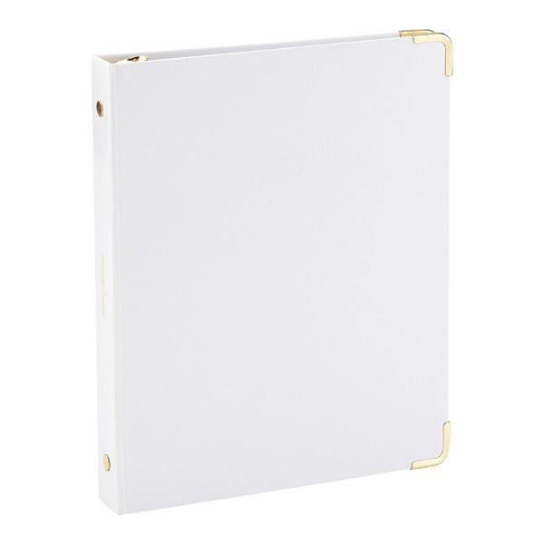 three rings office. white mini threering binder three rings office z