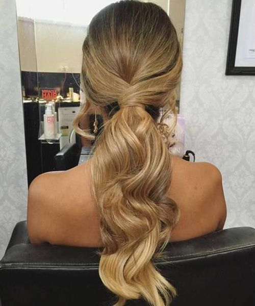 Simple and Cute Long Ponytail Hairstyles 2019 for Women