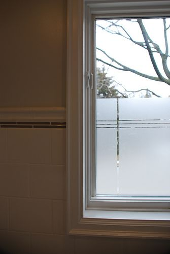 Best 25 frosted window ideas on pinterest diy frosted for Opaque glass for bathroom windows