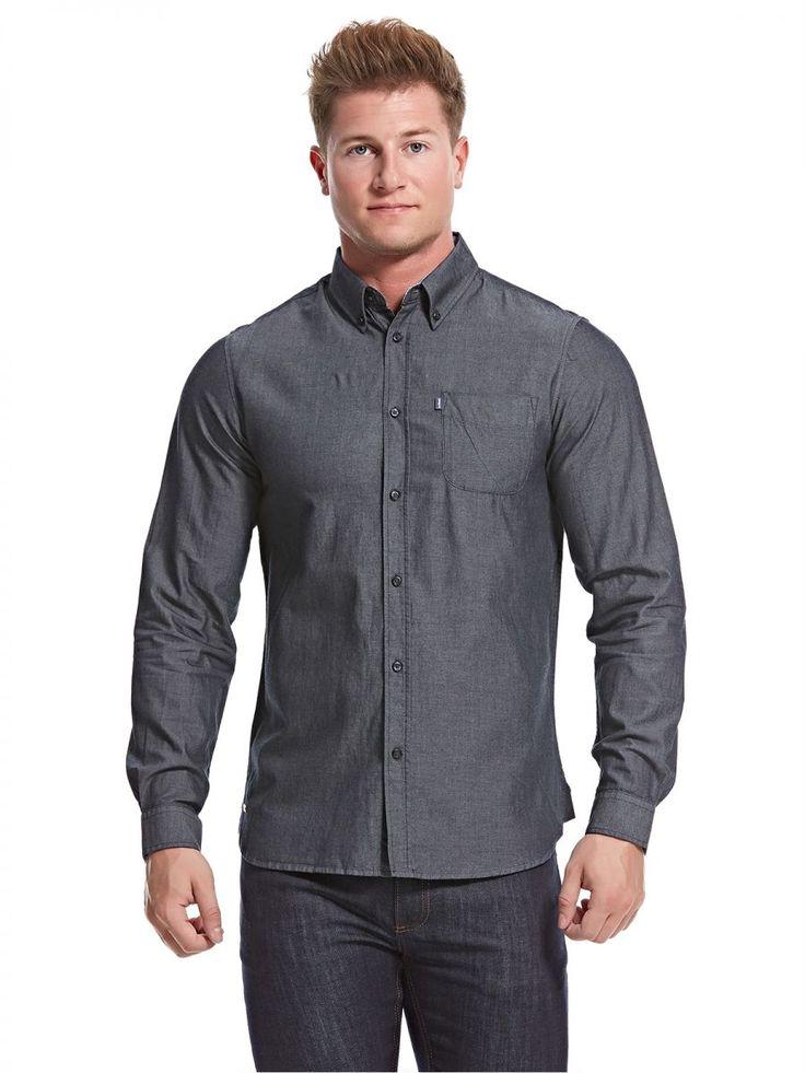 اشتري لي شارك قميص اسود قبة قميص -رجال - بلايز/ تيشيرتات | السعودية | سوق